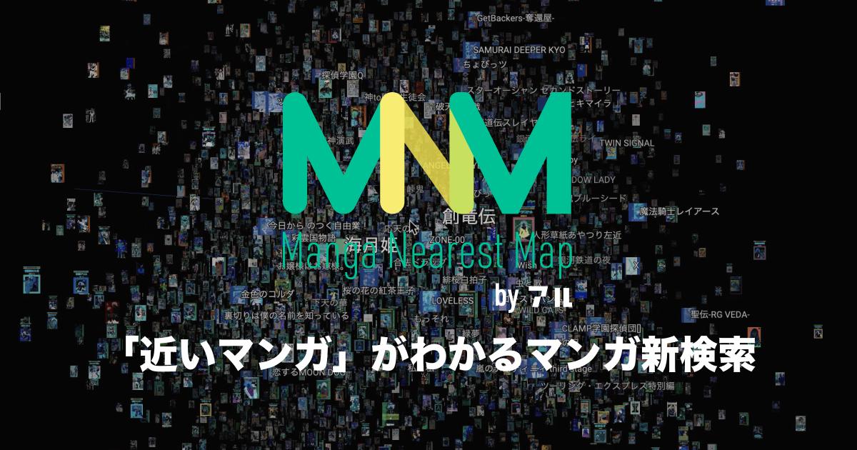 Manga Nearest Map
