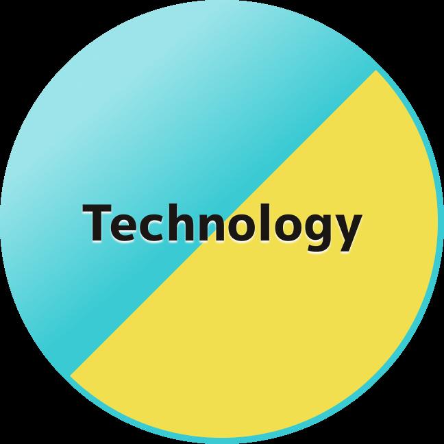 テクノロジーに強い!